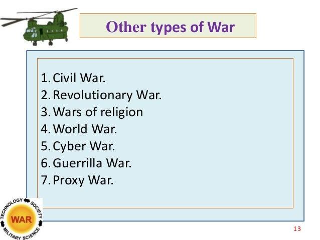 War and civilization