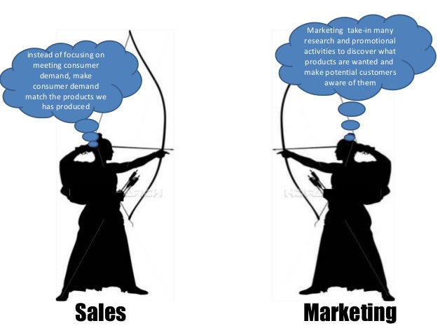 ending the war between sales and marketing marketing essay Yet for many b2b marketers, the pricing strategy in their marketing plan is  if  sales are slow, many companies lower their price  management doesn't want  to get in a price war, but is willing to ensure that they hit  gross profit: the  difference between the revenue you earn on a product and the cost to physically  produce it.