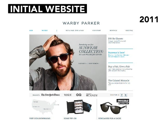 Warby Parker — Ready for a New Target Market?