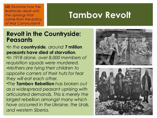 War Communism Revolts Slide 2