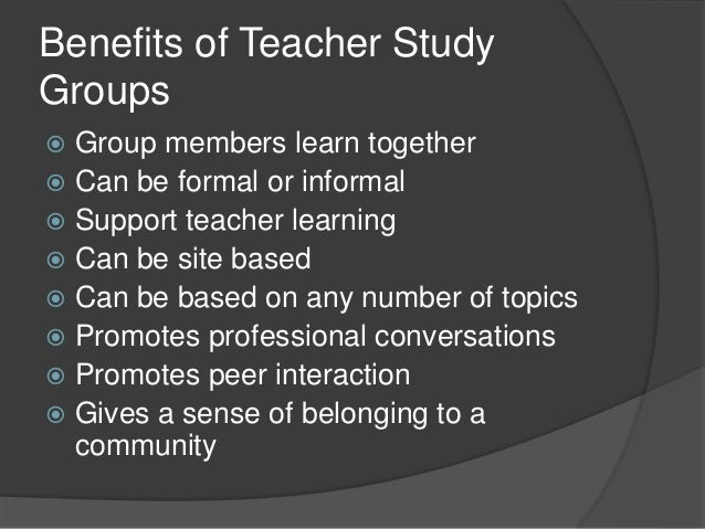 Discovering why study groups are more effective | The ...