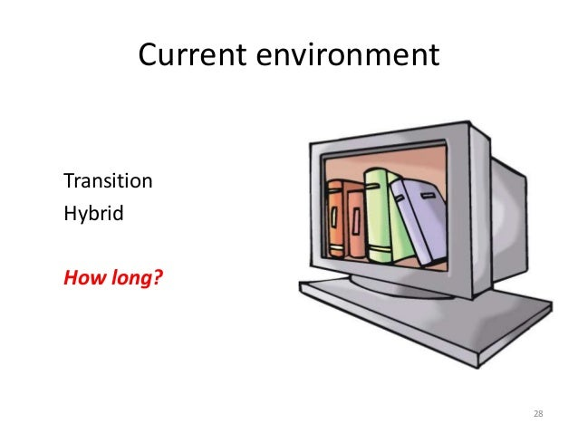Current environment Transition Hybrid How long? 28