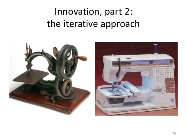 Innovation, part 2: the iterative approach 46