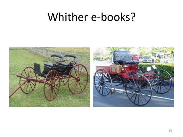 Whither e-books? 50