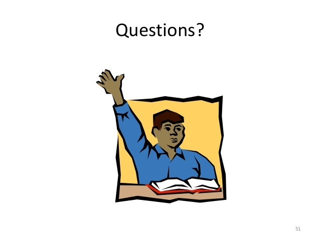 Questions? 51