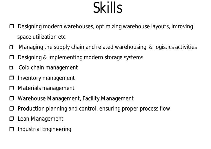 Https://image.slidesharecdn.com/warehouse Company ...  Warehouse Skills