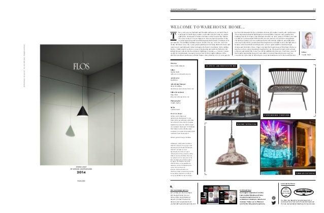 Warehouse Home - Architecture, Interior Design & Decor magazine