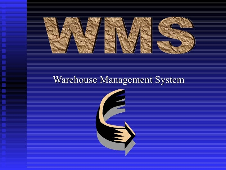 Warehouse Management System WMS