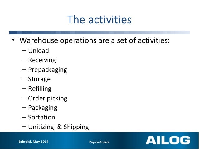 Warehouse management and operations  How to increase eirther