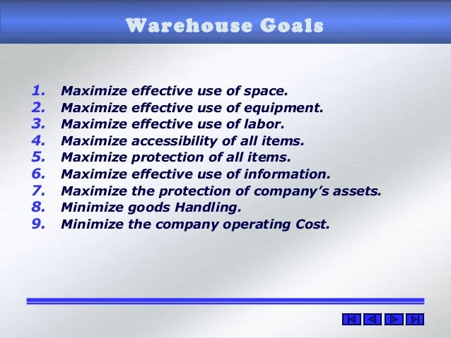 Managing warehouse operations  How to manage and run