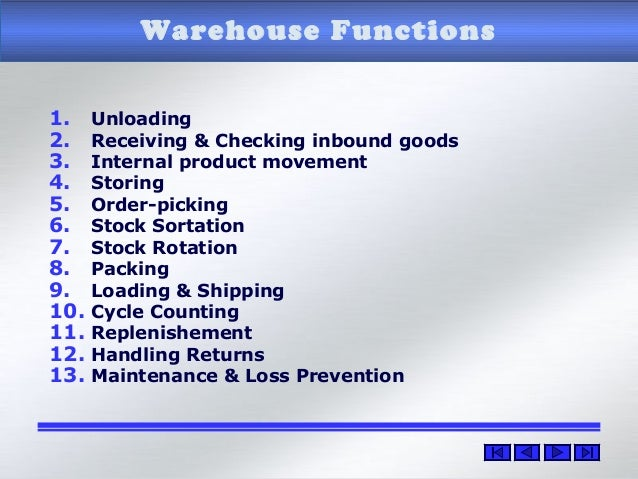sop of warehouse in operation Warehouse handbook white settlement isd warehouse operations are by definition behind the scenes but the safety practices of all personnel.