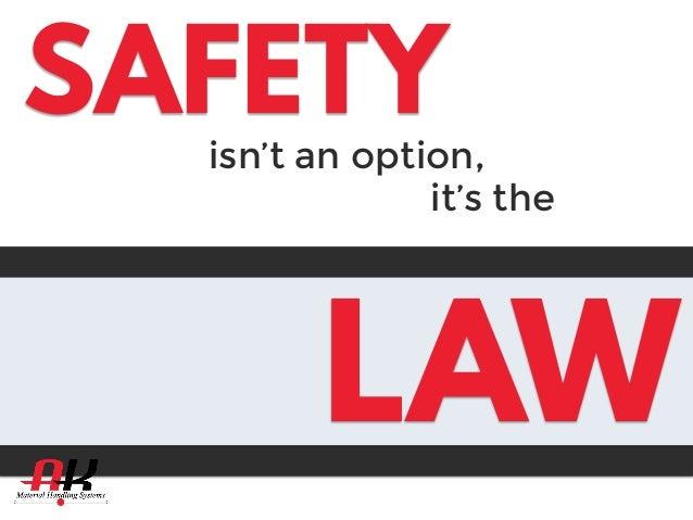Warehouse Safety Amp Osha Regulations