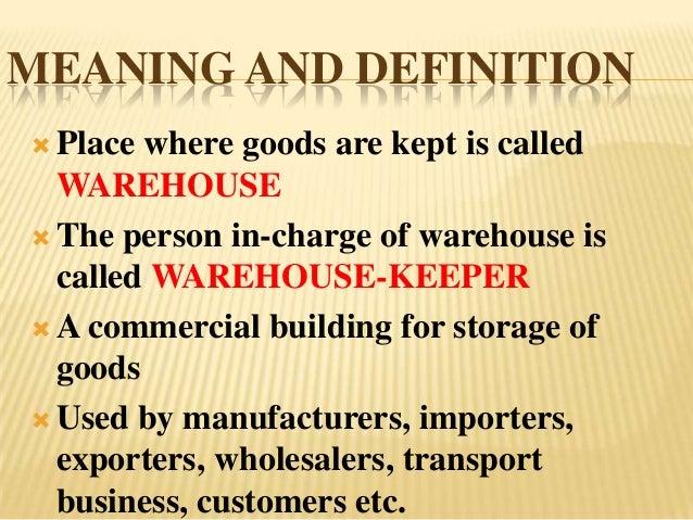 Warehousing Slide 3