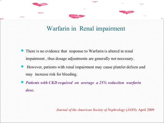 Warfarin Oral Anticoagulant