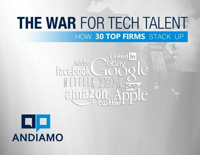 The War for Tech Talent - How 30 Top Firms Stack Up
