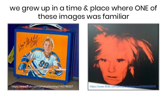 we grew up in a time & place where ONE of these images was familiar https://www.flickr.com/photos/tommyc/145786537 https:/...
