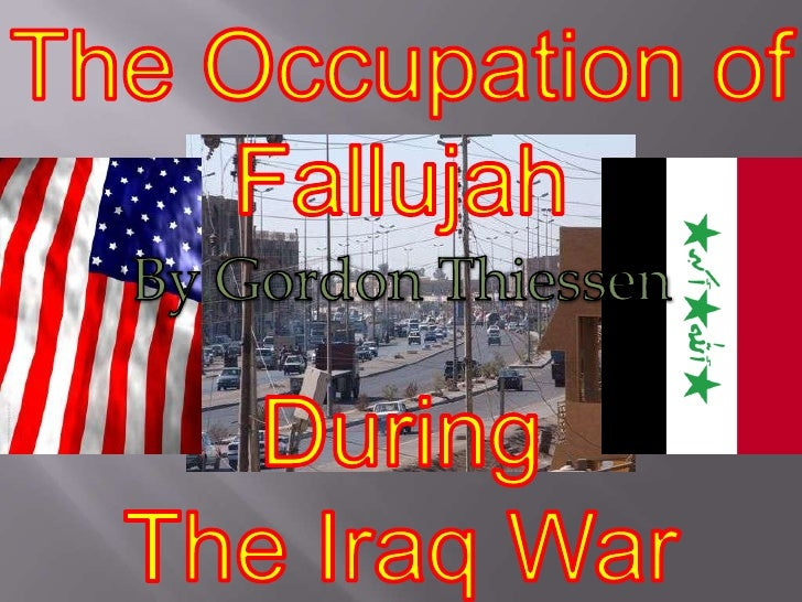 • Fallujah is a city   located in Iraq   about 50 km   from Baghdad.   The United   States tried to   Occupy Fallujah   du...