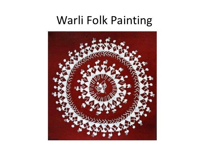 Warli Folk Painting