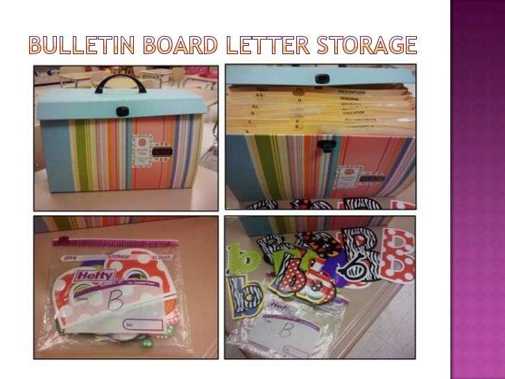 51. Bulletin Board Letter Storageu003cbr ...