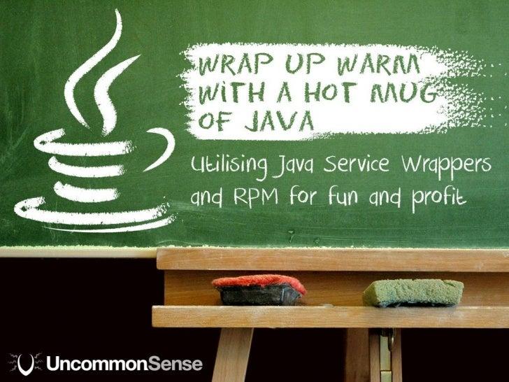 Wrap up warm with a hot mug of java