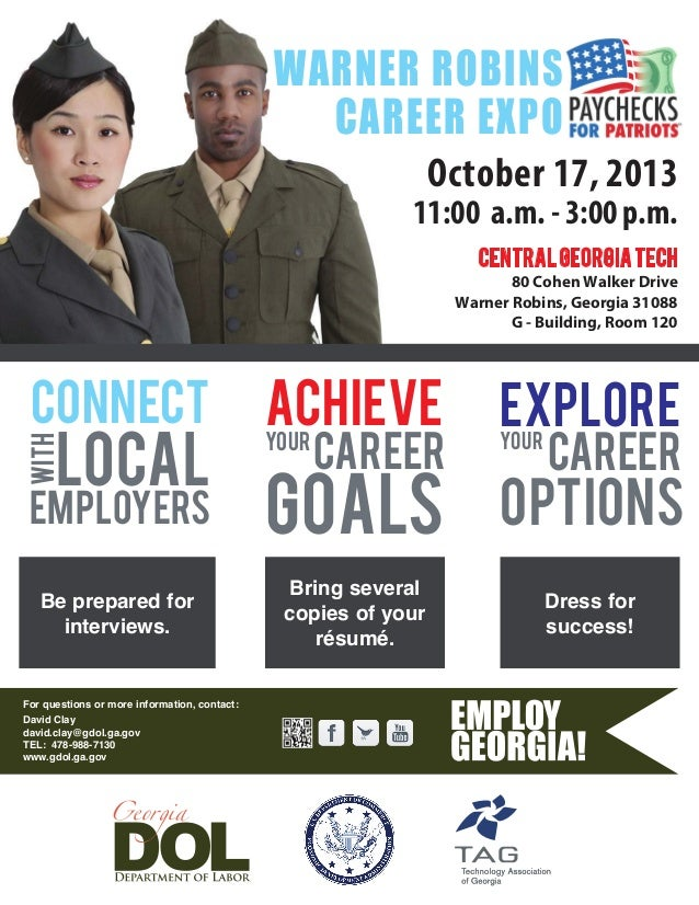 For questions or more information, contact: David Clay david.clay@gdol.ga.gov TEL: 478-988-7130 www.gdol.ga.gov October 17...