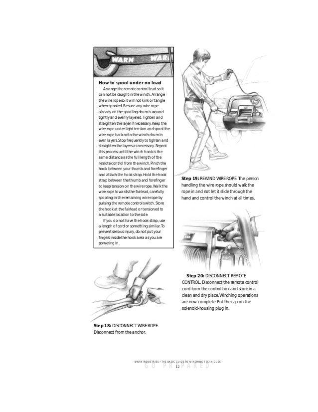 Warn Guide to Safe Winching