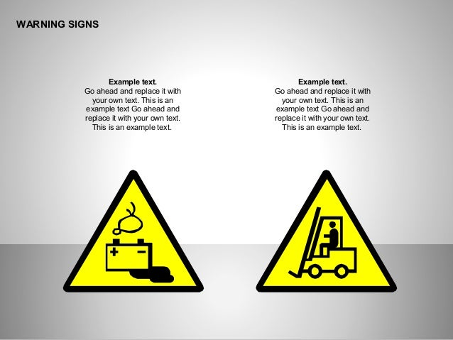 Warning Signs For Powerpoint