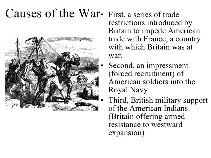 war of 1812 causes This wikipedia list from the header to its article on the war of 1812, is roughly accurate, even more accurate, with respect (and in my opinion) than scott young's good but very canadian answer: the war resolved many issues which remained from t.