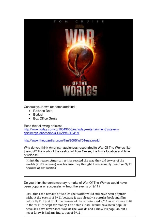 Conduct your own research and find:  Release Date  Budget  Box Office Gross Read the following articles: http://www.tod...