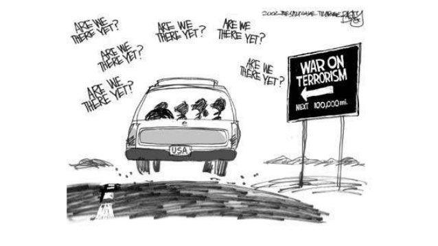 War On Terror Political Cartoons