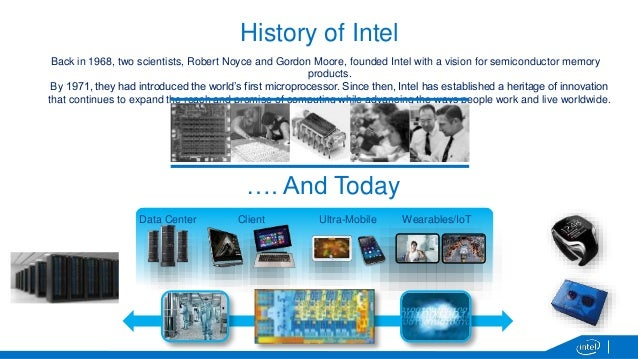 a history of intel corporation robert noyce and gordon moore In 1968, moore co-founded intel corporation with robert noyce intel has become a world leader in the design and manufacturing of semiconductors and is the largest semiconductor company in the world among other awards, moore holds the ieee medal of honor (2008) and the us national medal of technology (1990).