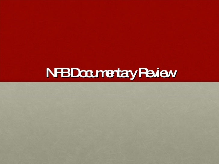 NFB Documentary Review