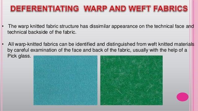 Warp Knitting Fabric Process : Warp knitting working process