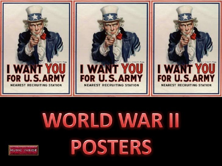 WORLD WAR II<br />POSTERS<br />