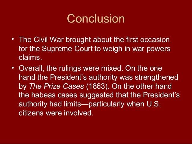 Essay civil war