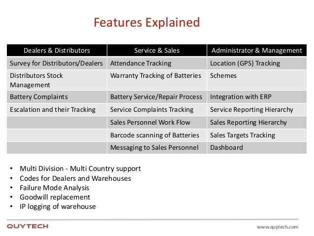 warranty management solutions