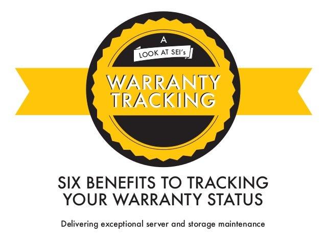 warranty tracking slide share