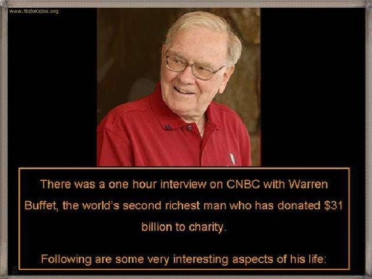 Warren Buffett's life lessons