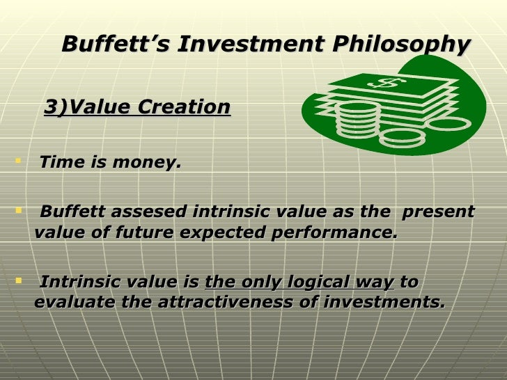 warren buffet investment philosophy economic reality