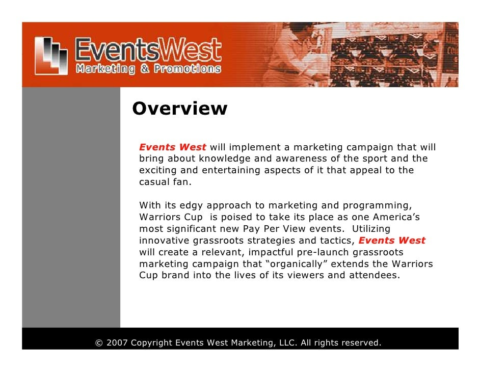 Sample Marketing PresentationPlan – Sample Marketing Campaign