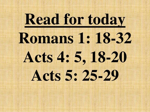 romans 1 18 32 Romans 1:18–32 embed embed this verse add this verse to your website by copying the code below customize god's anger at sin 18 but god shows his anger from.