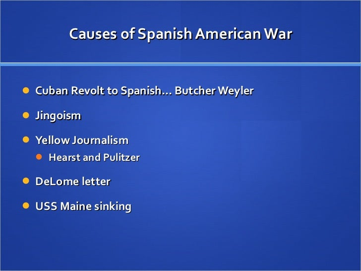 Apush spanish american war essay