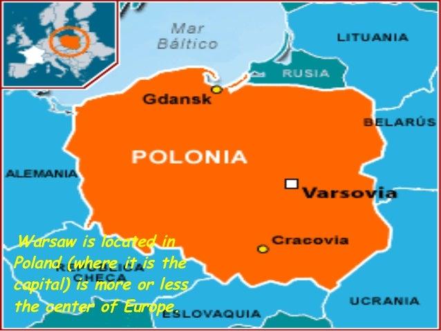 Warsaw Poland - Where is warsaw