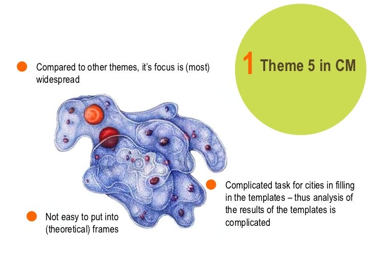 Theme 5 in CM 1   <ul><li>Complicated task for cities in filling in the templates – thus analysis of the results of the te...