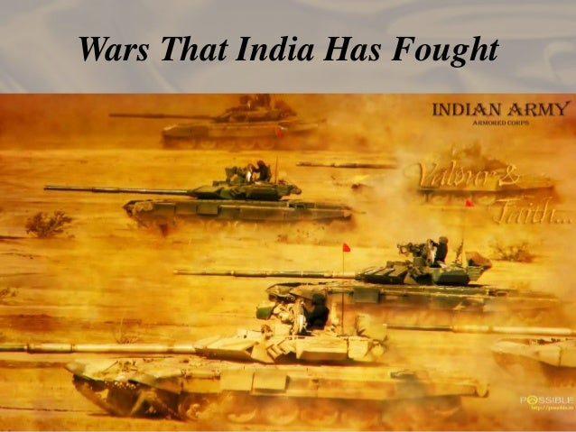 Wars That India Has Fought