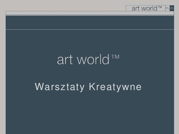 Warsztaty Kreatywne<br />