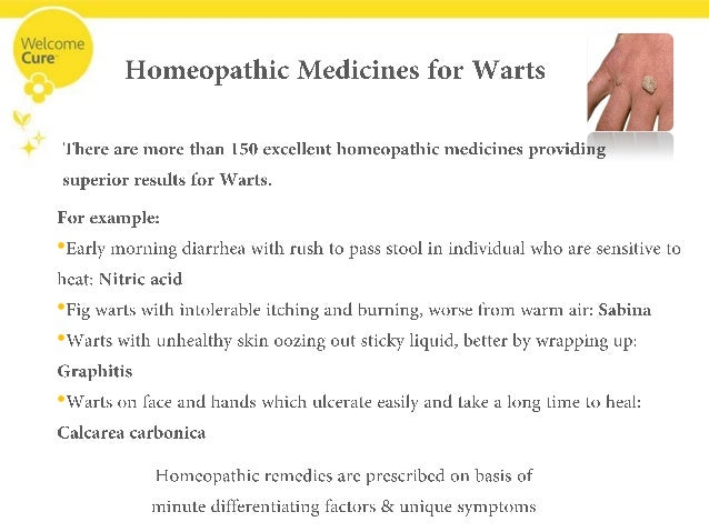Get Embarrassed No More! Eliminating Warts with Homeopathy