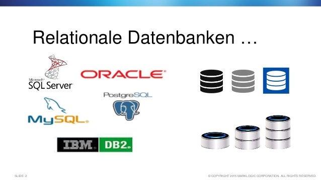 Warum NoSQL? Wann macht der Einsatz von NoSQL Datenbanken Sinn? Slide 2