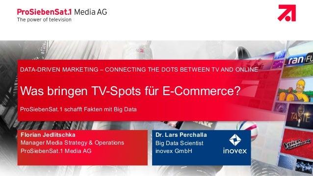 I Seite 1 | Marketing-Club Düsseldorf | ProSiebenSat.1 Media AG & inovex GmbH | 22. April 2015 DATA-DRIVEN MARKETING – CON...