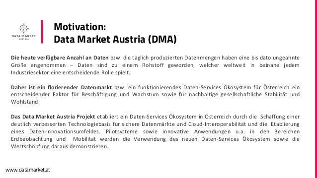 Was steckt drinnen, im Data Market Austria?
